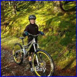 Orange five mountain bike XS 14 frame Long version Rare kids bike small adult