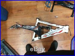 Orange patriot mountain bike frame