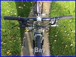Pace RC200 F6 Mountain Bike Vintage 1990s Rare Retro Square Tube Aluminium Frame