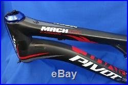 Pivot Mach 429 29er Carbon Full Suspension Mountain MTB Bike Frame XL