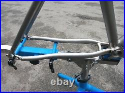 RARE! 18/ L On One 456 Evo Ti / Titanium, 26, Ex Cond, Headset & seatclamp