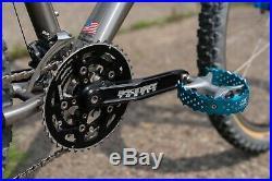 RARE Litespeed Owl Hollow Titanium Mountain Bike 16 Frame Gravel/Mountain