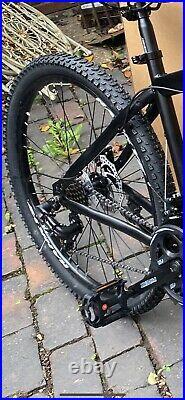 Rahkye Mountain Bike/Bicycle Matte Black Men/Women 26 MTB Frame Full Suspension