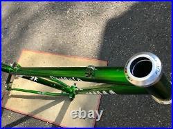 Rare 2005 Vintage 18 Voodoo Dambala Reynolds 853 Steel 29er MTB Frame + Extras