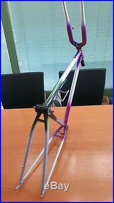 Rare NOS COLNAGO MASTER IBEX MTB vintage steel italian mountain bike frameset
