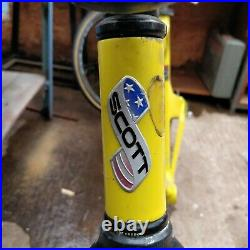 Rare Scott Endorphin Carbon Mountain Bike Frame 90s World Cup possible fixie