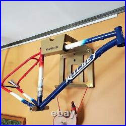 Ritchey Ultra 29 Mountain Bike Frame Blue, Red, and White