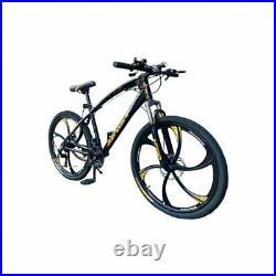 Road Mountain Bike Men / Women 26 Wheel Carbon Frame 7 Gear Speed Bicycle