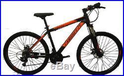 SALES Mens 26'' Mountain Bikes Bicycles 21 Speeds SHIMANO aluminium Frame