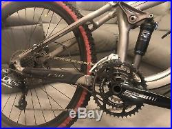 SPECIALIZED PITCH PRO Full Dual Suspension Mountain Bike LARGE Frame + UPGRADES