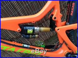 Santa Cruz 5010 C Large Orange 27.5 REDUCED AGAIN FOR QUICK SALE