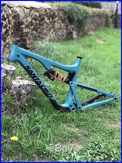 Santa Cruz Bronson CC V2 Bike 2017 Frame Large With Fox Dhx2 Coil