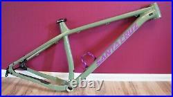 Santa Cruz Chameleon Large Boost Frame 27.5+ or 29 Green Purple Hardtail MTB