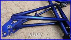 Santa Cruz Superlight Aluminium Mountain Bike Frame Blue & Fox float RL Shock