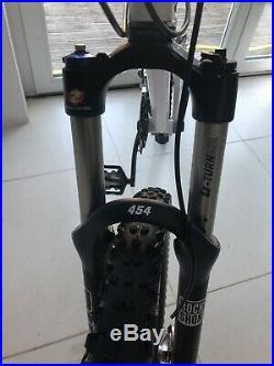 Santa Cruz blur LT full suspension mountain bike Large Frame