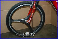 Schwinn HomeGrown Tomato Carbon Fiber Full Suspension Mountain Bike 19 Frame