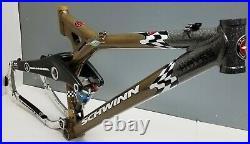Schwinn Homegrown LAWWILL 4-Banger 1999 17 Mountain Bike Frame EXCELLENT Yeti