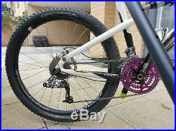 Scott Spark 35 26 3x9 carbon framed full suspension mountain bike
