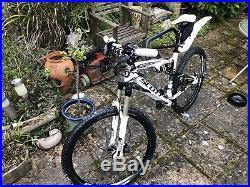 Scott Spark 50 full suspension mountain bike aluminium frame