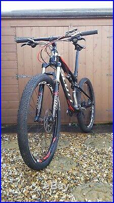 Scott Spark 710 2014 Medium 27.5 Wheels Carbon Frame 20 Speed