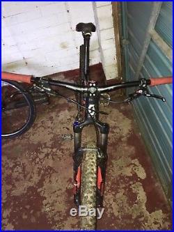 Scott Spark 760 S 2014 full suspension mountain bike, 27.5 wheels, 17.5 frame