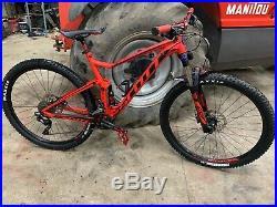Scott Spark 970 Full suspension mountain bike, Large frame, 29 Wheels, Hope