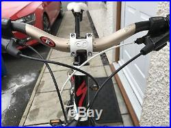 Specialized Camber Elite full suspension mountain bike Large frame