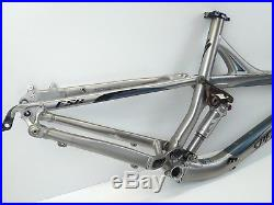 Specialized Enduro Expert SL FSR 26 Medium XC Bike Frame Silver USED 116
