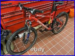 Specialized Epic Disk FSR Fox Forx M4 Alloy Frame Fantastic Condition