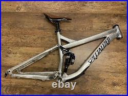 Specialized Pitch 150mm Enduto Trail Mountain Bike Frame & RockShox Monarch+ RC3
