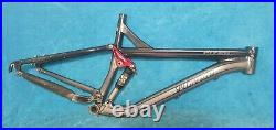 Specialized Pitch Comp FSR 17.5 Full Suspension Mountain Bike Frame 26 Wheel