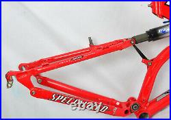 Specialized S-Works M4 FSR XC 26 Bike Frame Full Suspension 17 Medium Fox MTB