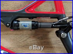 Specialized S-Works Stumpjumper FSR Carbon Frame 26 and Rear Shock 2011 Small