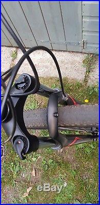 Specialized rockhopper sport 29er large frame, matt black hydraulic brakes