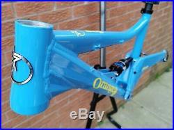 Superb Orange five 5 17 AM Enduro frame 26 wheel no 4 alpine 160 new shock