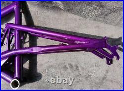 Superb Restored Santa Cruz Bullit Mk 1.2 frame 17 candy purple 5th element
