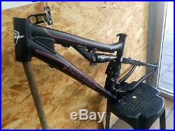 TOMAC SNYPER 140 frame+rear shock FOX RP23 HANDMADE