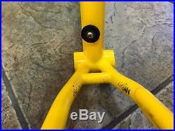 Team Fat Chance Yo Eddy Steel Mountain Bike Frameset MTB 17 Medium Rigid MIUSA