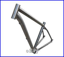 Titanium 29er Hardtail MTB Frame Rohloff Hubs 29 Mountain Bike Frame