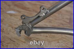 Titus HCR Titanium Mountain Bike Frame 15/Small Disc Hardtail Made in USA