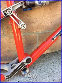 Tomac 78 Special Full Suspension MTB Frame Size Medium 17.5 Rare Chris King HS