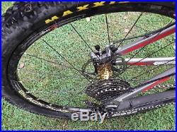 Trek Fuel EX 8 2012 Full Suspension Mountain Bike Silver and red Medium frame