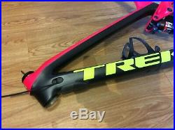 Trek Fuel EX 9.8 Project One Carbon Frame 19.5 Pink And Yellow Large