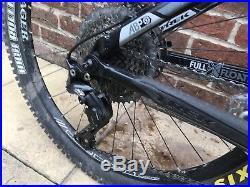 Trek Fuel Ex 8 Full Suspension Mountain Bike 2011, Black 18.5 frame