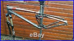 Trek Fuel Ex 9.9 Carbon Mountain Bike Frame and Fox Float RLC Fork. Medium