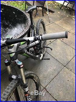 Trek Remedy 7 2014 17.5 inch frame full suspension mountain bike £2200 new