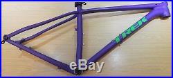 Trek SUPERFLY Bike Frame 17.5 Custom Colours Purple Green 29er 29 M Alloy