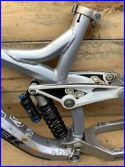Trek Session 88 Full Suspension FR DH Downhill Mountain Bike Frame. Fox DHX 5.0