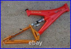 Trek Y22 Carbon Full suspension Mountain Bike Y Frame OCLV Handmade in USA retro