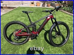 Trek rail 7 e mountain bike Large Frame 335miles